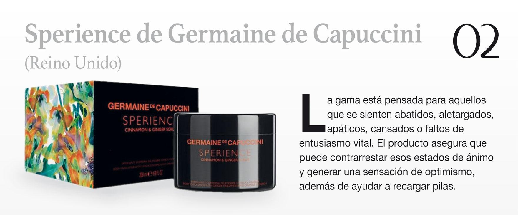 Sperience de Germaine de Capuccini (Reino Unido)