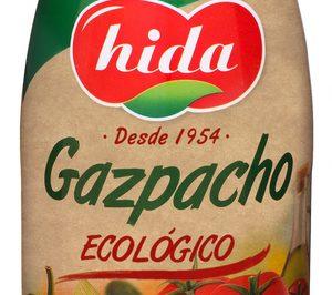 Hida presenta su gazpacho ecológico