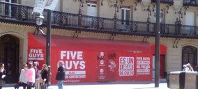 Five Guys pone fecha a su llegada a Bilbao