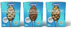 Grupo Cidacos lanza legumbres en 'Tetra Recart'