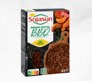 Las hamburguesas lideran la nueva oferta de Sojasun