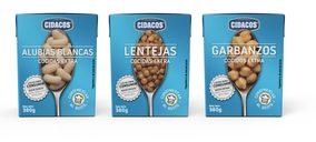 Cidacos lanza legumbres cocidas en Tetra Recart