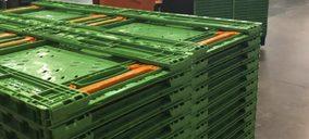 Logifruit apuesta por las cajas plegables en su servicio a Mercadona