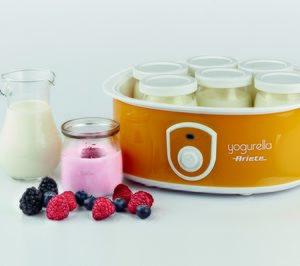 Ariete suma una yogurtera para preparar 7 tarros