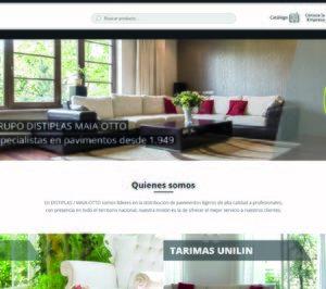 El grupo Distiplas y Maia-Otto presentan su nueva página web
