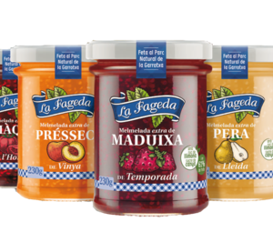 La Fageda reposiciona sus mermeladas con nueva composición, variedades y packaging