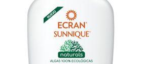 Ecran Sunnique lanza la gama Naturals con fórmulas biodegradables
