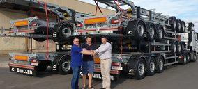 Guillén Group hace un envío de semirremolques a los países bálticos