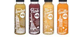 Vibs se vuelca en el segmento de zumos refrigerados