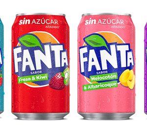 Coca-Cola innova con cuatro nuevos sabores de Fanta