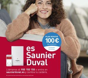 Saunier Duval lanza su nuevo Plan Renove 100 €