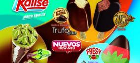 Kalise vuelve a comercializar sus helados en la Península