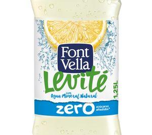 Aguas Danone lanza Font Vella Levité Limón Zero