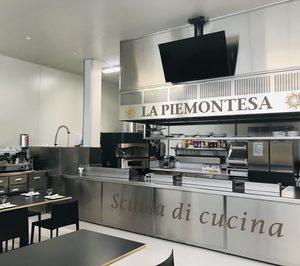 La Piemontesa monta una escuela de cocina en su obrador central