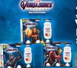 Vengadores End Game llega a Actimel