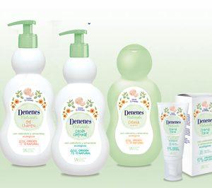Denenes lanza su gama más natural para el cuidado del bebé