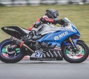 Arco renueva el patrocinio a la escudería de motociclismo de la UPV