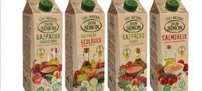 Don Simón presenta sus gazpachos más ecológicos