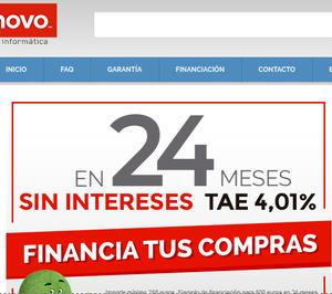Lenovo y Cetelem se unen para ofrecer un servicio de financiación online