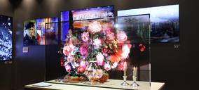 LG presenta la nueva pantalla OLED transparente para señalética