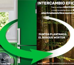 Worten lucha contra el cambio climático con la reforestación de la península