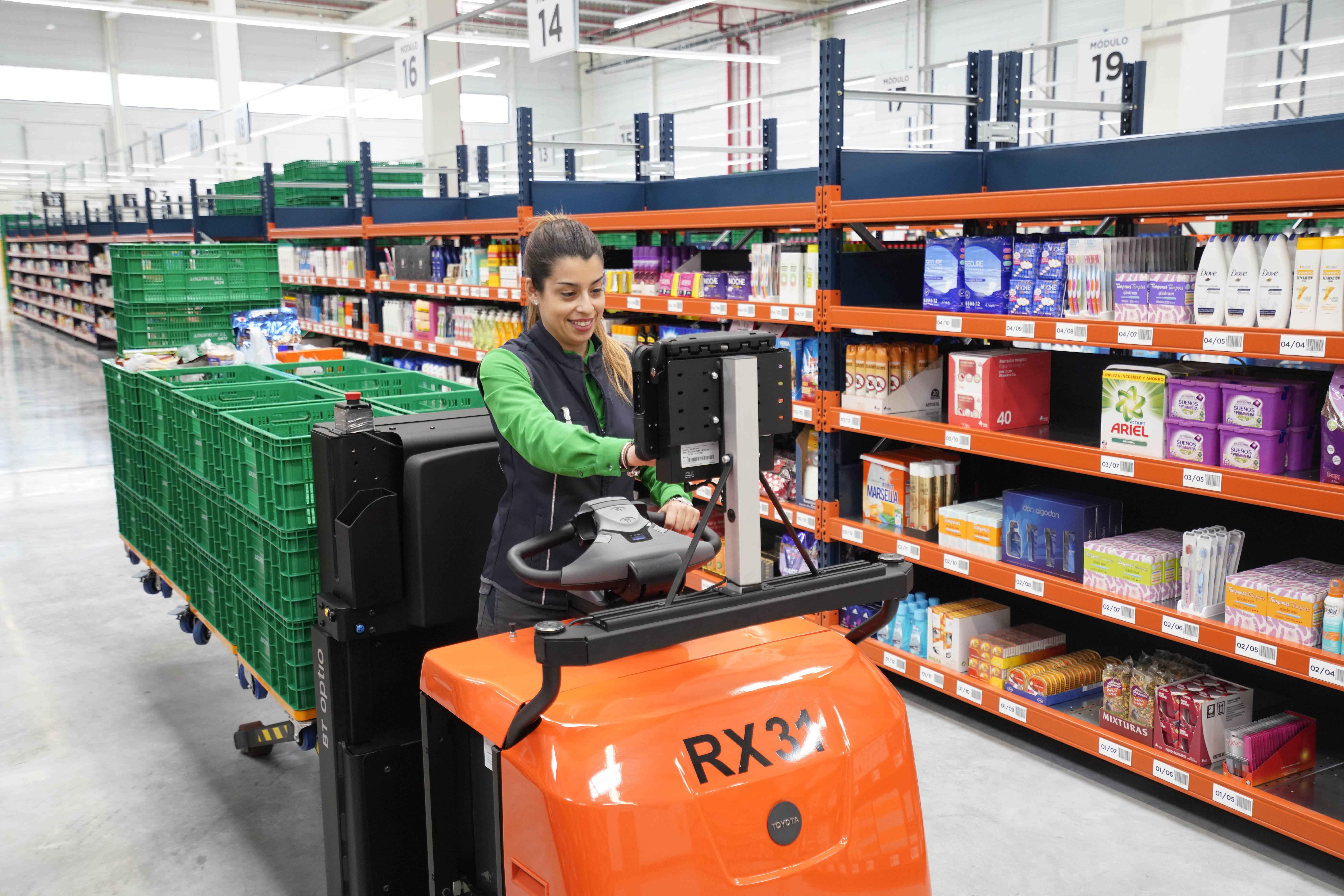 Mercadona lleva su supermercado online a la ciudad de Barcelona