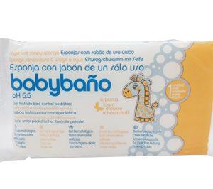 'Babybaño', la esponja jabonosa para el cuidado del bebé que llega a los hogares