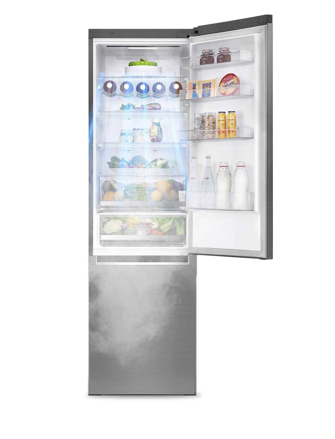 LG presenta su nueva gama de frigoríficos ecoeficientes
