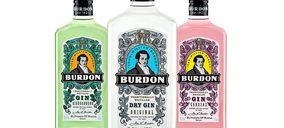 Caballero recupera la marca de ginebra Burdon