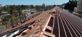 Onduline rehabilita la cubierta de la nave aduana del Puerto de Valencia