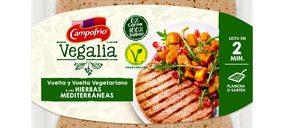 Campofrío amplía su catálogo vegetariano