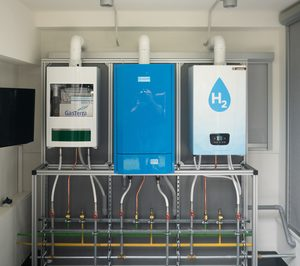BAXI presenta la caldera doméstica a base de hidrógeno