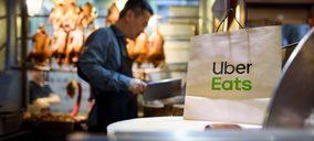 Uber Eats amplía sus servicios a restaurantes con repartidores propios