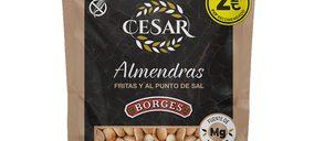 Lekkerland introduce una gama de frutos secos Borges