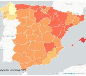 Baleares y Galicia repiten como las comunidades más cara y más barata para la compra online