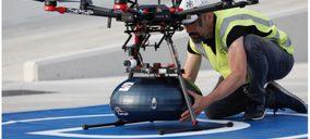 Sesé ensaya con Seat el transporte y entrega con drones