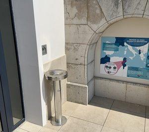 Canaletas instala sus fuentes en el Museo Oceanográfico de Mónaco
