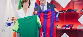 BOJ, nuevo patrocinador del equipo de fútbol Eibar SD