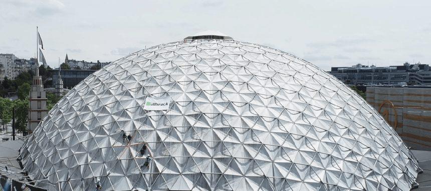 Tremco illbruck participa en la rehabilitación de la cúpula del Palacio de los Deportes en París