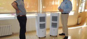 MConfort dona equipos de climatización a entidades sociales de Valencia