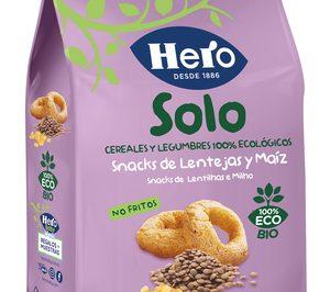 Hero lanza una nueva gama de snacks ecológicos