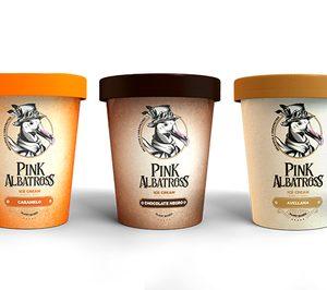 Pink Albatross busca posicionarse en helados prémium veganos