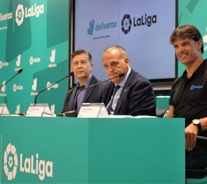 Deliveroo se apoyará en LaLiga para aumentar su capilaridad