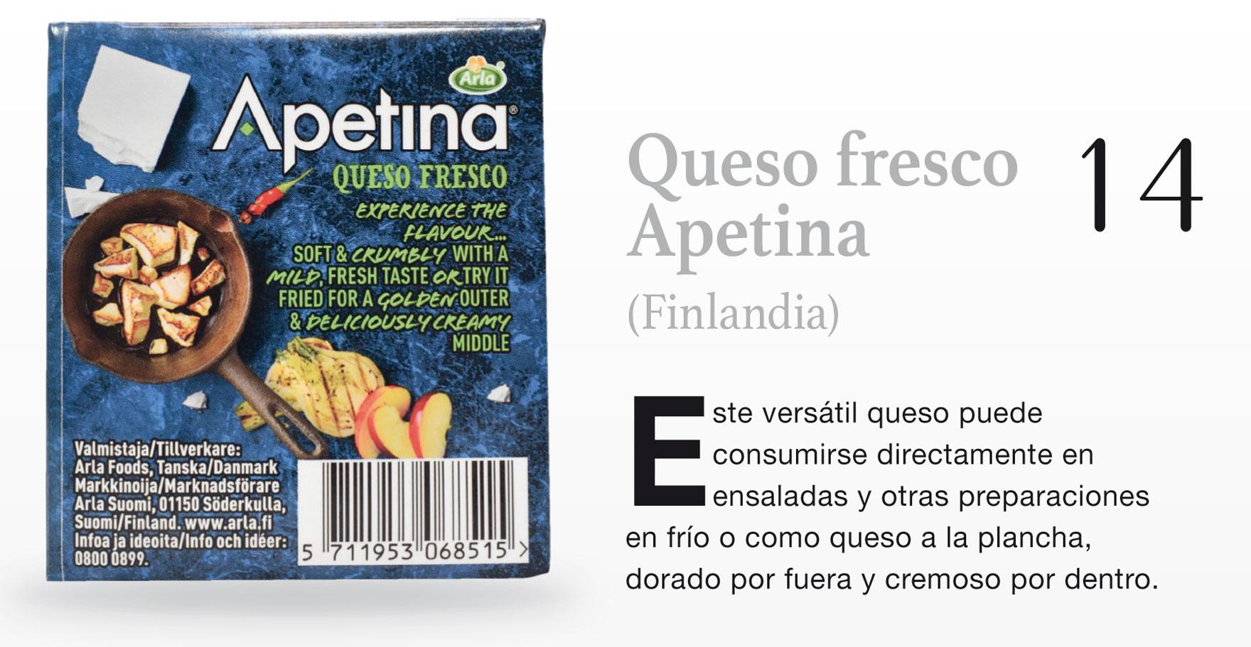 Queso fresco Apetina (Finlandia)