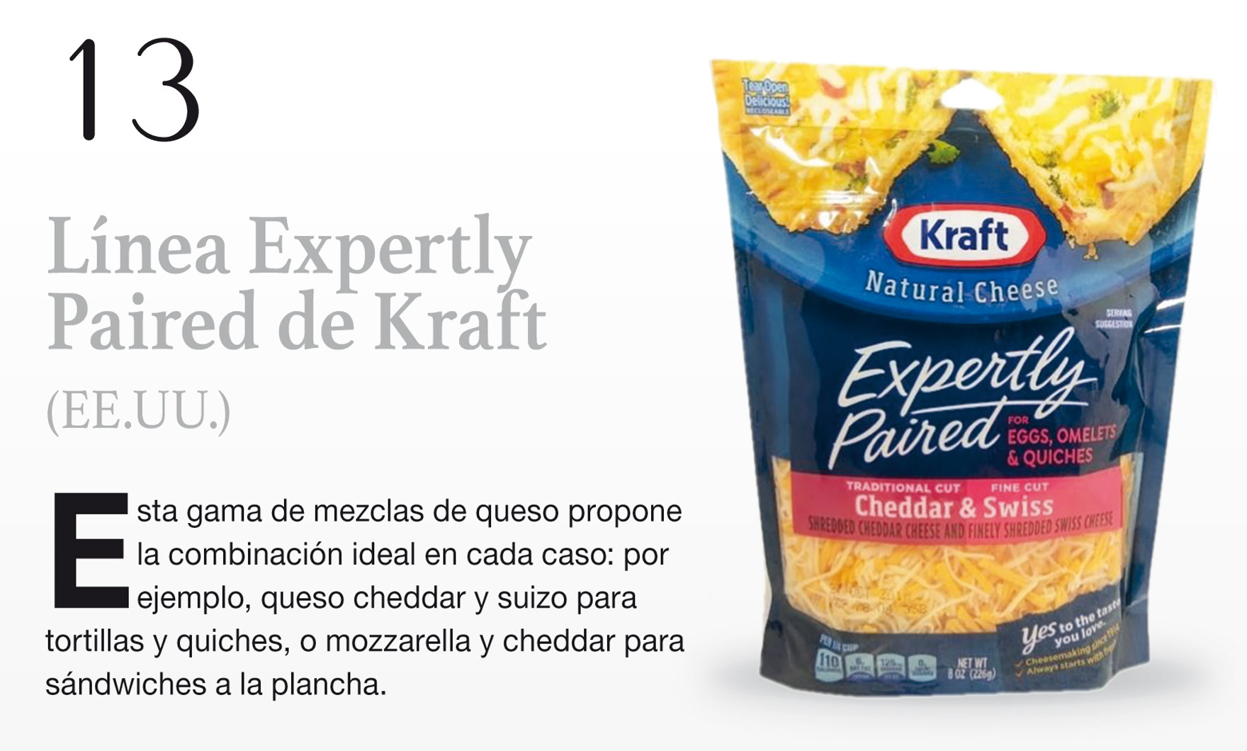 Línea Expertly Paired de Kraft (EE.UU.)