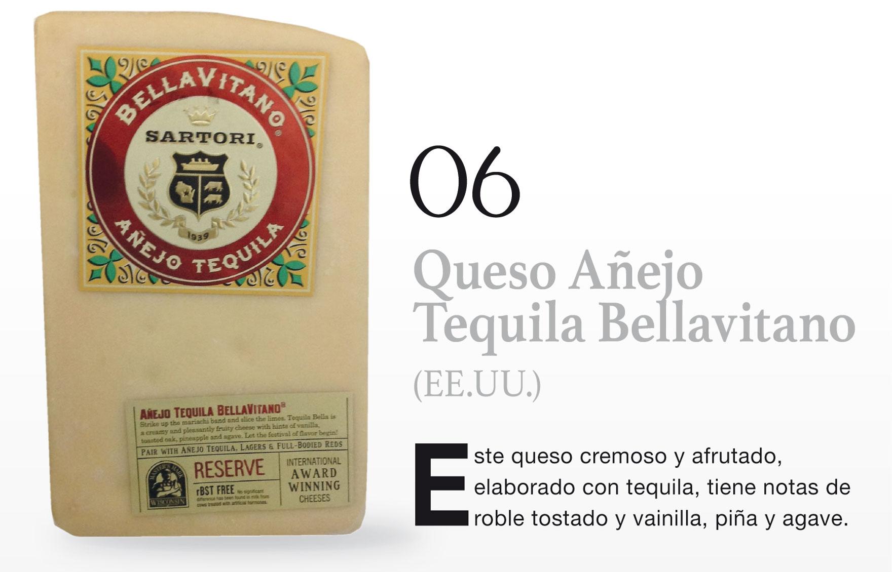 Queso Añejo Tequila Bellavitano (EE.UU.)