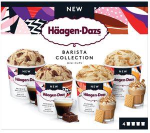 Häagen-Dazs se inspira en los amantes del café para sus nuevas tarrinas