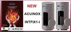 Adisa Heating presenta gama de acumuladores en acero inoxidable