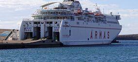 El grupo Armas crece un 2% y se coloca como segundo operador del mercado marítimo