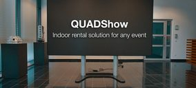 Optoma se abre al mercado de alquiler con la nueva solución QUADShow
